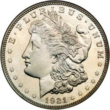 Coins such as silver dollars are very popular.