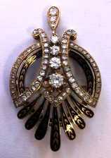 We buy fine antique and estate jewelry!
