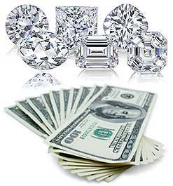 Sell your diamonds fast to the GIA Certified diamond buyers at The Gold Rush in Natick, Massachusetts MA